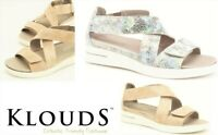 Klouds shoes - Orthotic friendly comfort leather Sandals Klouds Footwear Pearle