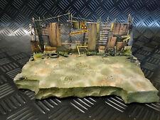 Diorama für Fahrzeuge oder Figuren im Maßstab 1:24/25, Wasteland Barrikade