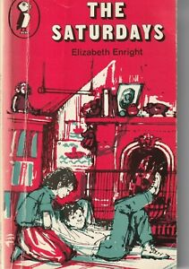 The Saturdays by Elizabeth Enright (Puffin Books Paperback 1974)