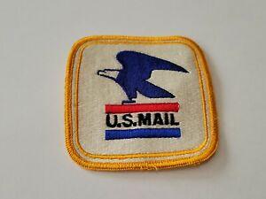 Vintage U.S. MAIL Post Office Letter Carrier Patch USPS Bald Eagle NOS