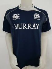 MAGLIA SHIRT POLO RUGBY SCOTLAND CANTERBURY TAG.L MAILLOT JERSEY ITALY RARE R8
