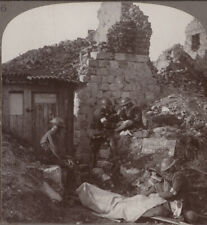 WW1 Battle of Arras. R.A.M.C Royal Army Medical Corps at Monchy Dressing Station