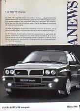 Lancia Delta HF integrale Evo 1993 Press kit Geneva Show + 2 press photos