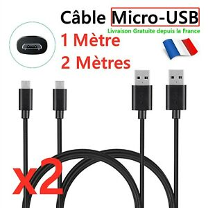 Pour Samsung,Huawei,Sony,Téléphones Android,PS4,GPS Câble Chargeur USB Micro USB