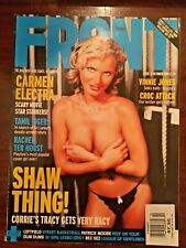 Carmen Electra - Front Magazine #24 - Oct 2000 - Theron - Like New+