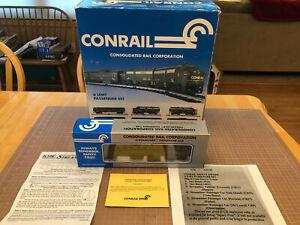 "K-Line O Train RARE ""Safety Award"" Conrail PAVONIA 27 Parlor Passenger Car Q3"