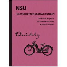 NSU Quickly 1,4 1,7 PS N L T TTK S 2 Reparaturanleitung Montageanleitung