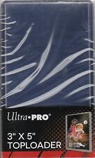 "25 ULTRA PRO TALL TOP-LOADERS, HOLDS 2.5"" X 4.75"" CARDS"