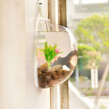 Acrylic Fish Bowl Wall Hanging Aquarium Tank Aquatic Pet Supplies Pet Products W