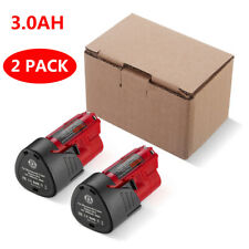 2 PACK 3000mAh For Milwaukee M12 12 Volt 48-11-2401 48-11-2420 XC Li-ion Battery