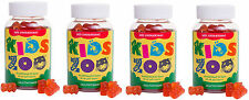 4x Kids Zoo Multivitamin w/ strawberrytaste