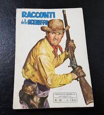 HUGO PRATT su RACCONTI DELLO SCERIFFO - Supplemento 1967 ** Ottimo **