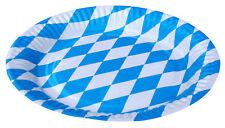 Oktoberfest Wies'n Party Teller Pappteller Tischdeko bayrische Raute