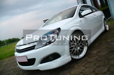 Opel Astra H Twin Top GTC Valance Chin Spoiler OPC Look Lip