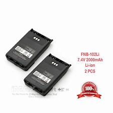 2 x 2000mAh Fnb-101Li Fnb-102Li Battery for Yaesu Vx-8Dr Vx-8De Vx-8Gr Vx-8Ge