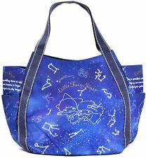 Sanrio x Manufatto Little Twin Stars Kiki Lala Diaper Bag Big Balloon Tote Japan