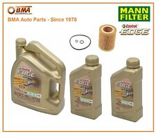 BMW 1 Series M 128i 135i  Complete OEM Oil Change Kit Mann Castrol HU816x 5W30