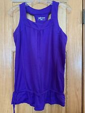 Xersion Purple Yoga Athletic Exercise Fitness Shirt Top Womens Size M Pre-owned
