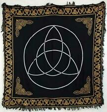 Celtic Triquetra Trinity & Knots Wicca Pagan 36x36 Altar Tarot Side Table Cloth