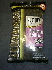 Dynamite Baits Hi Attract Squid + Octopus 15mm 1kg Shelf Life Boilies Fishing