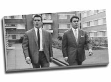 The Kray Twins Gangster Canvas Print 30x16""