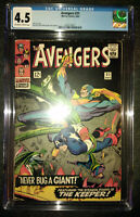 Avengers (1st Series) #31 1966 CGC 4.5 VG+ Stan Lee Story