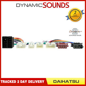 Connects2 CT10DH01 Car Bluetooth SOT Harness Wiring Lead for Daihatsu