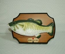 Big Mouth Billy Bass..Gemmy 1999..WORKS AND LOOKS GREAT