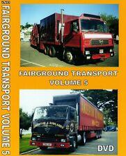 NEW FAIRGROUND TRANSPORT VOLUME 5 DVD SHOWMANS FUNFAIR TRURO DARTMOUTH EXETER