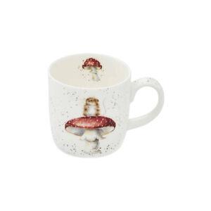 Wrendale Designs Mug He's a Fun-Gi Mouse 310ml Fine Bone China Royal Worcester