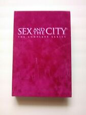 Sex And The City Complete Series Pink Velvet HBO 6 Seasons On 19 DVDs, 1 Missing