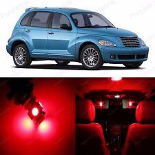 8 x Red LED Interior Light Package For 2001 - 2010 Chrysler PT Cruiser + TOOL