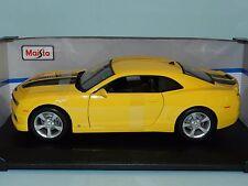 Maisto Special Edition 1/18 2010 Chevrolet Camaro SS RS Yellow MIB