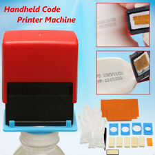 Mini Manual Handheld Printer Code Tool Coding Date Number Printing Machine US