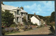 C1970's View Old Cottages, Boscastle, Cornwall