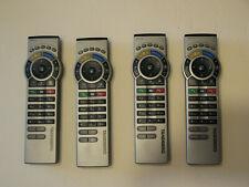 Lot of 4 Tandberg TRC 4 remotes