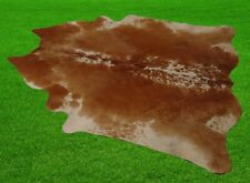 """New Cowhide Rugs Area Cow Skin Leather 18.42 sq.feet (52""""x51"""") Cow hide A-18"""