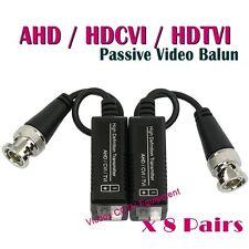 16pcs HD TVI CVI AHD CCTV Camera Video Balun Transmitter Adapter BNC to UTP Cat5