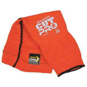 MCR SAFETY 9174O Cut-Resistant Sleeve,Orange,L Size