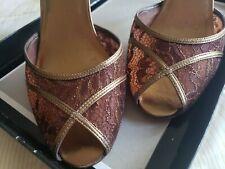 Valerie Stevens Lace Shoes Tango Ballroom