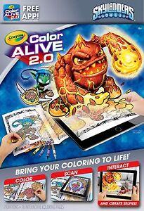 Crayola Colour Alive 2.0 (Color Alive 2.0) - Skylanders