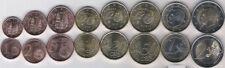 Spain 2015 set of 8 euro coins New King 1 2 5 10 20 50 cent 1 2 euro Bimetal UNC