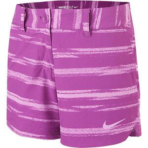 Nike Golf Women Greens Shorty Shorts 640429-550 NWT $70 > Size 14