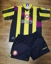 Completo maglia Calcio Japan League Kyoto Purple Sanga Umbro vintage anni 90