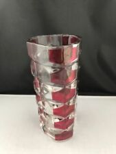 Vintage Original Vase Ruby Art Glass