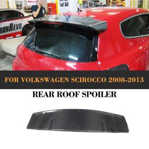 Carbon Fiber Rear Roof Spoiler Racing Wing Lip for VW Volkswagen Scirocco 08-13