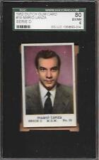 1952 DUTCH GUM CARD MARIO LANZA 19 MGM SERIE D SGC 80 6 EX-MT GRADED VINTAGE ABC