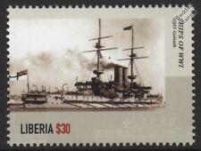 WWI HMS GOLIATH (1898) Canopus-Class Pre-Dreadnought Battleship Warship Stamp