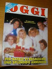 OGGI=1986/52=PRESENTATRICI TV=DURAN DURAN=GIANNINA FACIO=FRANCO AMBROSIO=SOLDATI