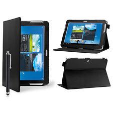 """Cuero Funda para Samsung Galaxy Tab a 2/3/4 10.1 Pulgadas 8"""" 7"""" P3100"""
